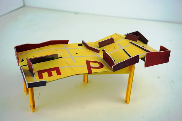 gaming table [maquette]