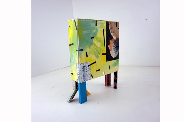 wardrobe [maquette] - Credit: David Kirshner