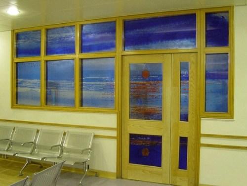 Glass screens for Liverpool Royal Hospital A&E Dept.