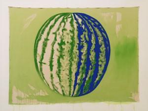 Yellow Bellies (Melon blue/green), by Rachel Magdeburg
