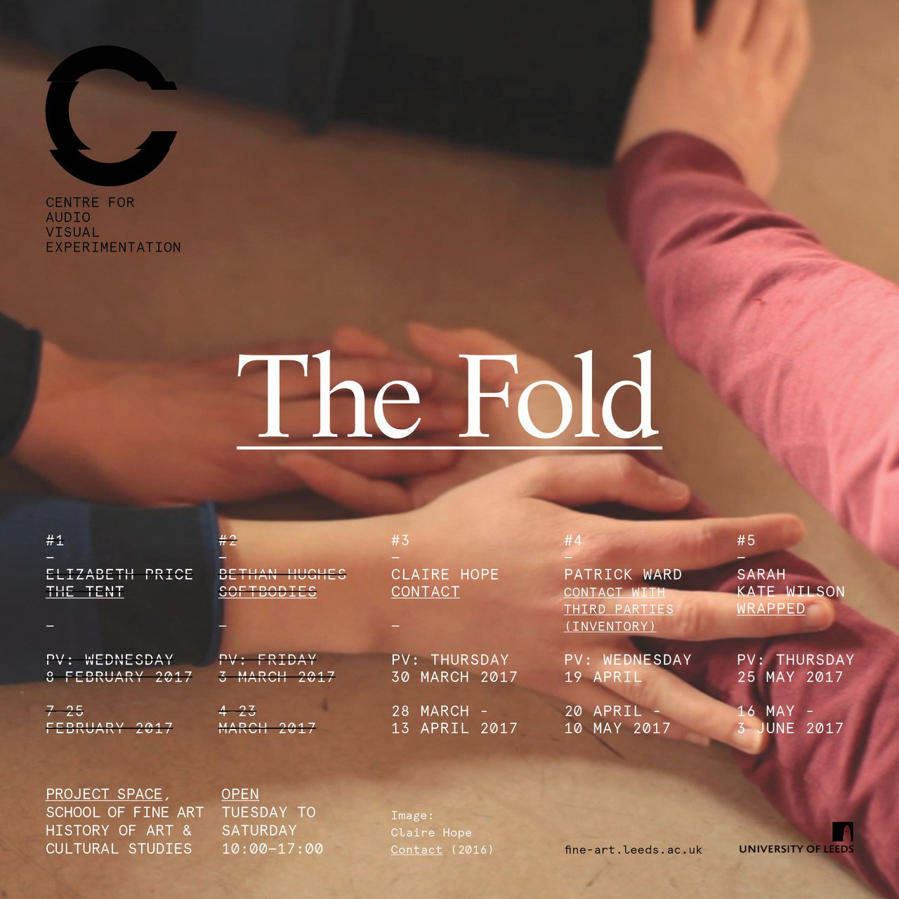 'Contact' (part of exhibition series 'The Fold')