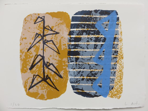 Silk Screen prints, by Lucy Austin