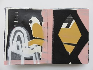 Sketchbook pages 5-6, by Lucy Austin