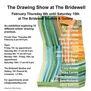 The Drawing Show at The Bridewell, by Sarah Richards