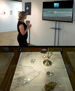 Sea Views exhibition, by Kyra Clegg