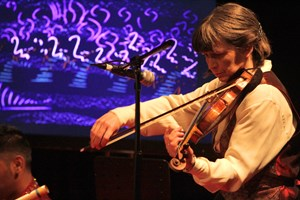 The Red Species List concert (Eleanor on violin)