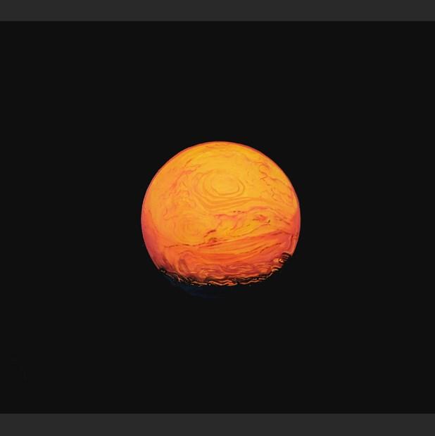 Hypothetical Proto Planet 2