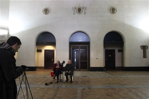 Half Crowns in their Petticoats, for 'Thrift Radiates Happiness' at Birmingham Municipal Bank - Credit: Elly Clarke