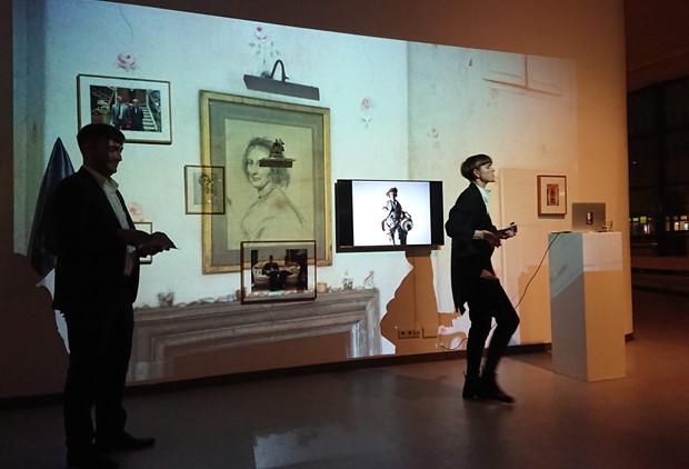 A Class(y) Lecture by Elly Clarke, Galerie Wedding, Berlin, November 2018 - Credit: Stephanie Ballentine