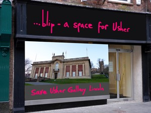 Save Lincolnshire's Usher Gallery, by Marc Renshaw
