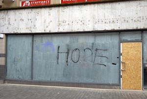 Hope - ...blip - a space for art, by Marc Renshaw