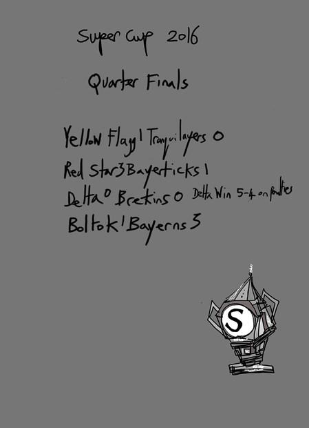 The Super Cup 2016 - Quarter Finals.