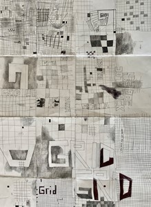 The Grid drawings, by Marc Renshaw