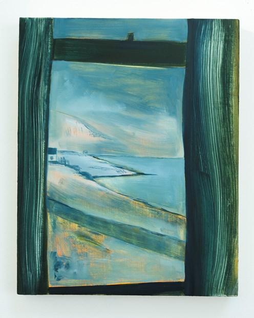Hrisey, window
