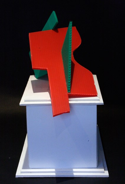 'Monument to the Aesthetics of Statistical Representation' (maquette)