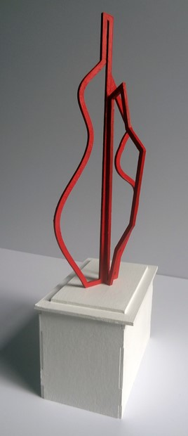 'Monument to the Historical Representation of the Figure #1' (maquette)