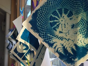 Cyanotype Workshop, by Angela Chalmers