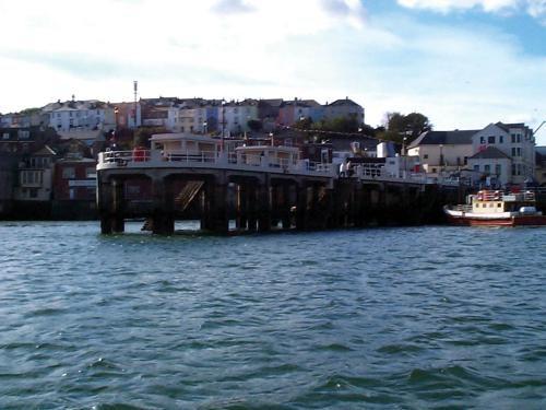 Sensing the elements, Falmouth pier