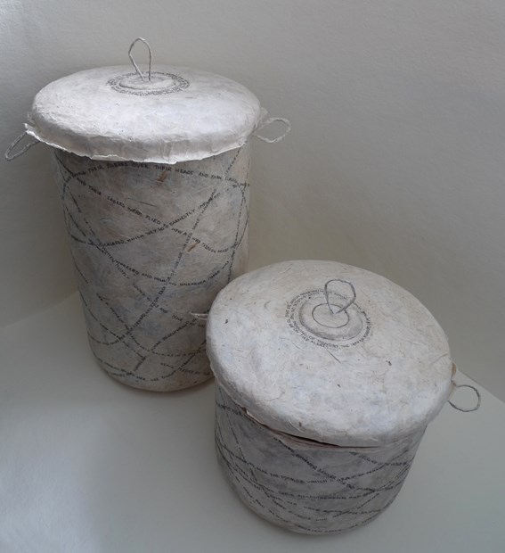 Palimpsest Pots for Elizabeth Slater and Rachael Horrocks