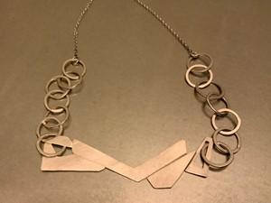 Silver jewellery, by Allison Murphy