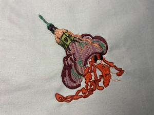 Hermit crab, by Allison Murphy