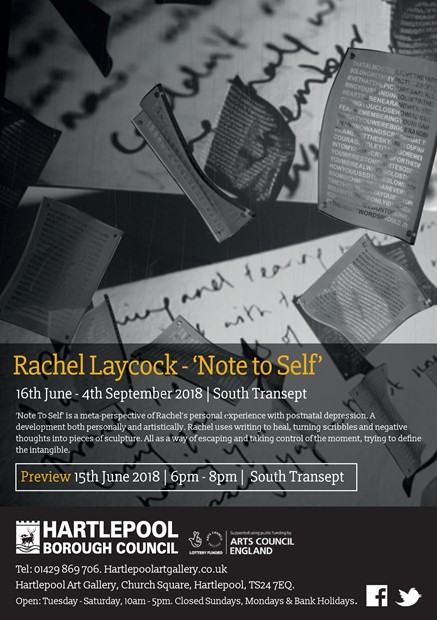 'Note To Self' Exhibition