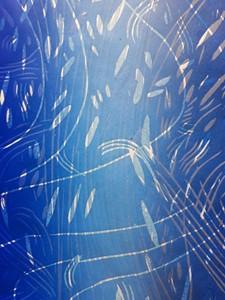 La planète bleue, by Sam Lee