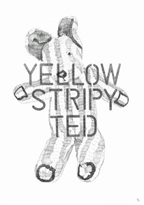 Yellow Stripy Ted, by Philip Ryland