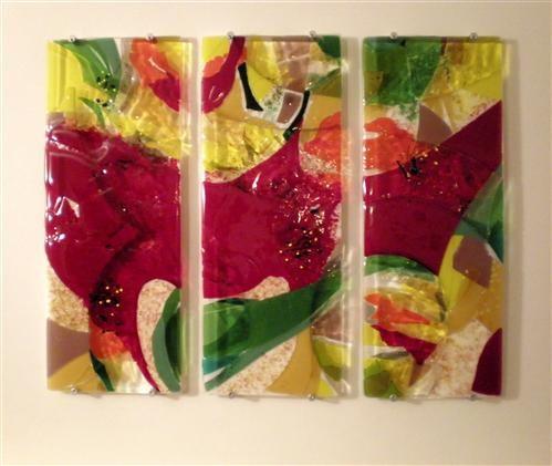 Art Glass Wall panel