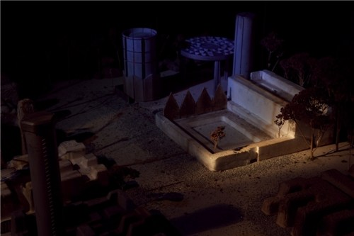 Nocturnal Dystopian Cityscape 84