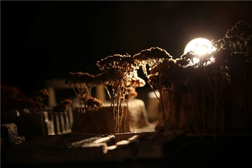 Nocturnal Dystopian Cityscape 90