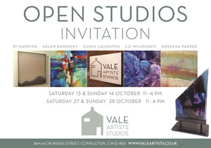 VALE ARTISTS' OPEN STUDIOS 2018, by Susan Laughton