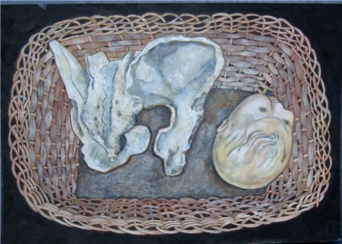 Pelvis and Doll's Head