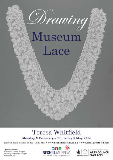 Drawing Museum Lace, Bexhill Museum