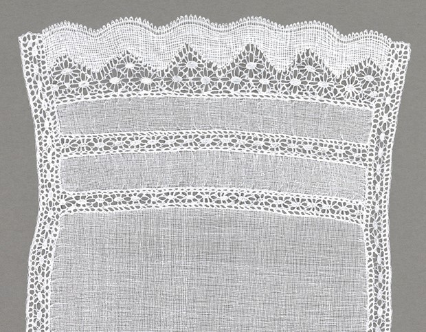 Modesty with Downton Russian & Fine Spider Lace