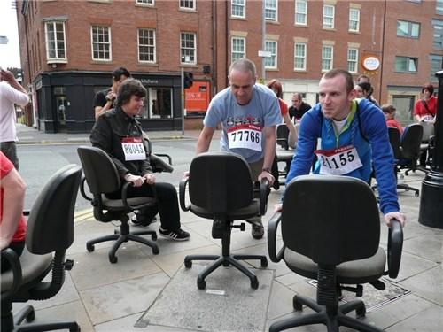 Desk Chair Parade