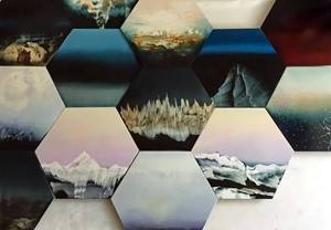 New hexagon series from Sweet+Shore, by Anne Penman Sweet