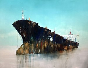 New tanker paintings, by Anne Penman Sweet