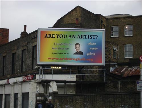 Arthur N. Ghell - Billboard
