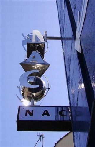 1st Section of NAC Entrance Signage