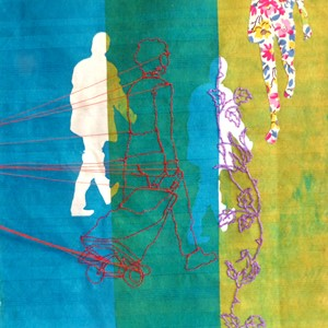 Illustrative Embroidery for Textiles, by Rosie James