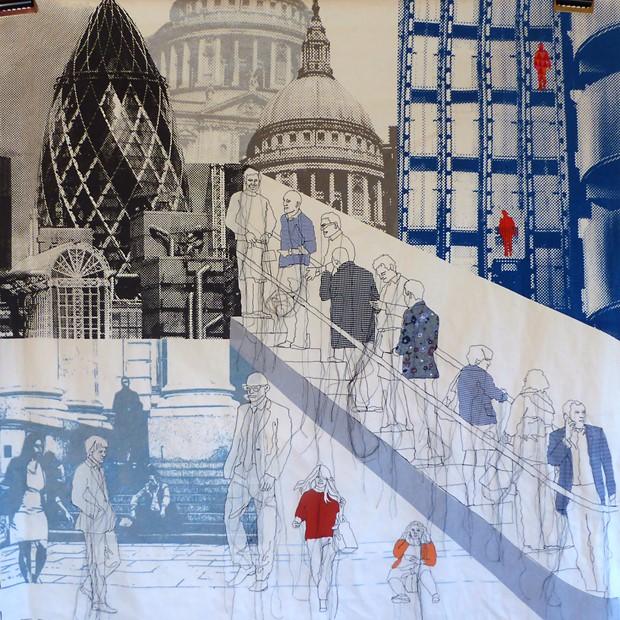 Hotel commission, textile art