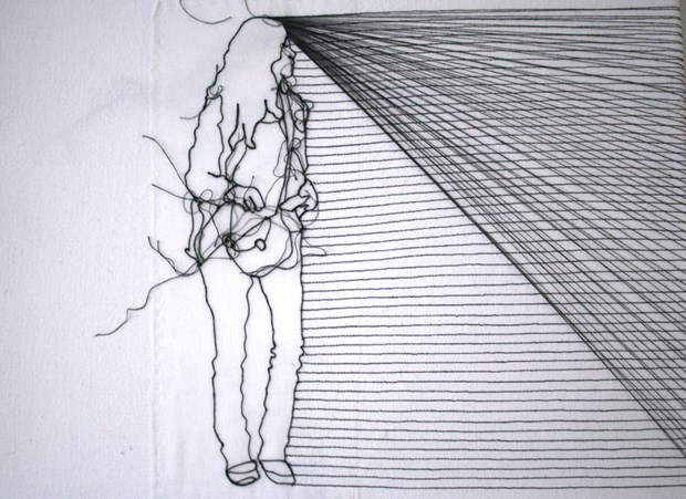 Line Drawing Net : Figure line rosie james axisweb: contemporary art uk network