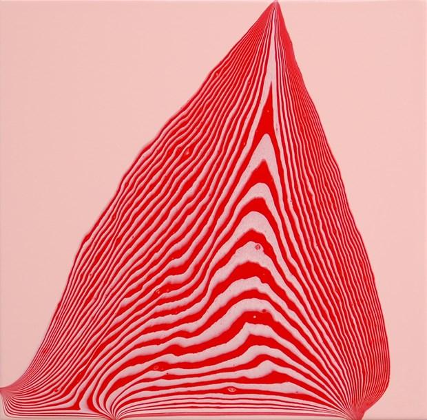 Tipping Point (light portrait pink / cadmium red medium) #1