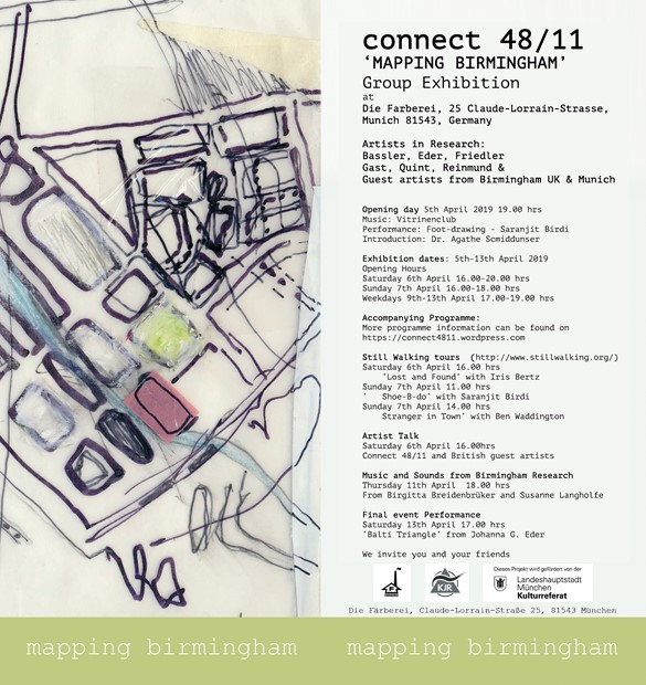 'Mapping Birmingham' in Munich- connect 48/11 Group Exhibition