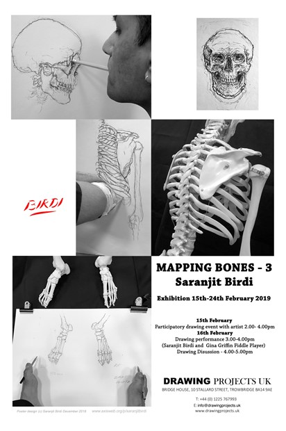 'Mapping Bones 3' - Exhibition