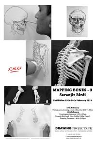'Mapping Bones 3' - Exhibition, by Saranjit Birdi
