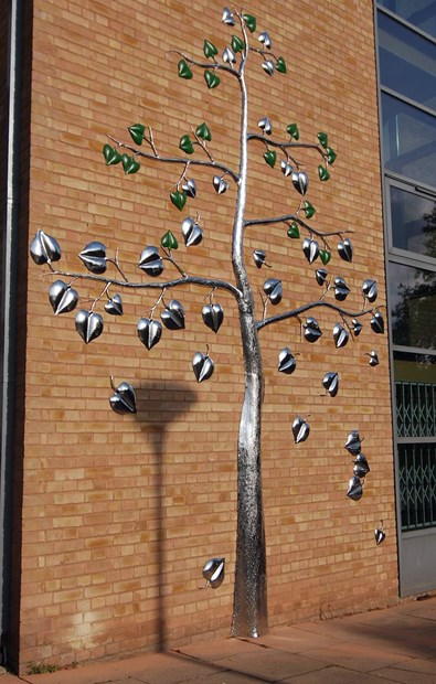 'Names Are Leaves' - public sculpture for Castle Vale, Birmingham