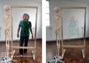 Mapping Bones 3 - Saranjit Birdi, by Saranjit Birdi