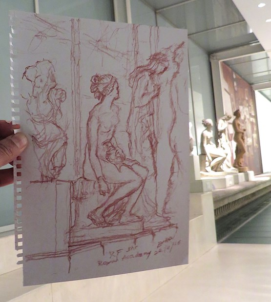 'An Academic Drawing' at the Royal Academy